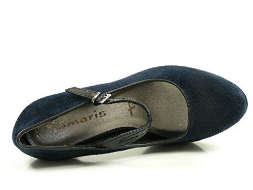 Tamaris 1-24408-29 zapatos de tacón alto para mujer Blau