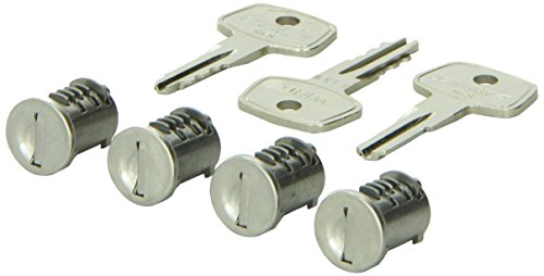 Yakima - SKS Lock Cores for Yakima Car Rack System Components (4 pack)
