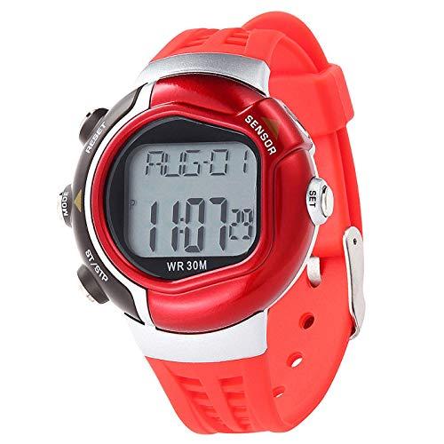 Bestow Reloj Impermeable de la Caloršªa de la Aptitud Monitor del Ritmo Cardšªaco Reloj Deportivo Caloršªas Contador: Amazon.es: Ropa y accesorios