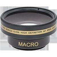 Wide Lens for Sony DCR-DVD405E, Sony DCR-DVD407, Sony DCR-TRV38, Sony DCRTRV11, Sony DCR-TRV11, Sony DCRTRV22