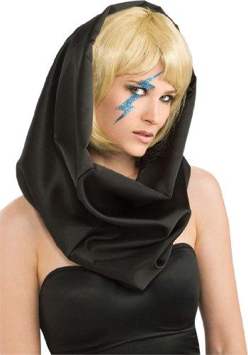 [Rubie's Lady Gaga Blue Lightning Bolt Decal 8554] (Lightning Bolt Costumes)