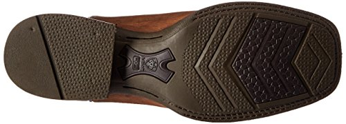 Ariat Menns Barstow Western Cowboy Boot Branding Jern Rust