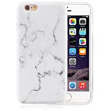 "iPhone 6 Case, VIVIBIN Shock Absorption IMD Soft TPU Gel Protective Case for Regula iPhone 6 / iPhone 6s - 4.7"" (White#2)"