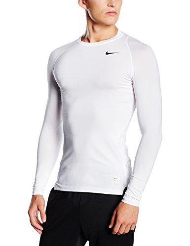 Nike Herren Kompressionsshirt Pro Cool Compression LS, white, M, 703088-100