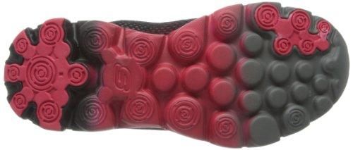 Skechers GOrun Ride Supreme - Zapatillas de material sintético para niño negro - Schwarz (BKRD)