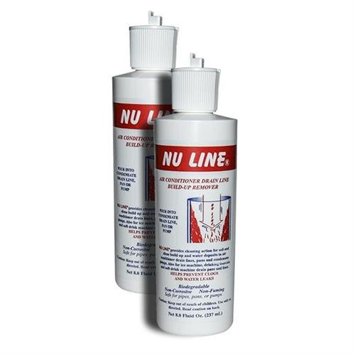 FAST SHIPPING! (2)-Pack NuLine HVAC Condensate Nu-Line Drain Cleaner , 8 ounce by Rectorseal