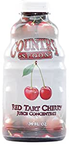 Country Spoon Montmorency Red Tart Cherry Juice Concentrate | 34 oz.