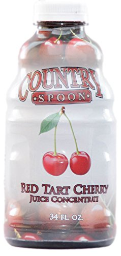 Country Spoon Montmorency Red Tart Cherry Juice Concentrate | 34 oz. (Cherries Tart Red)
