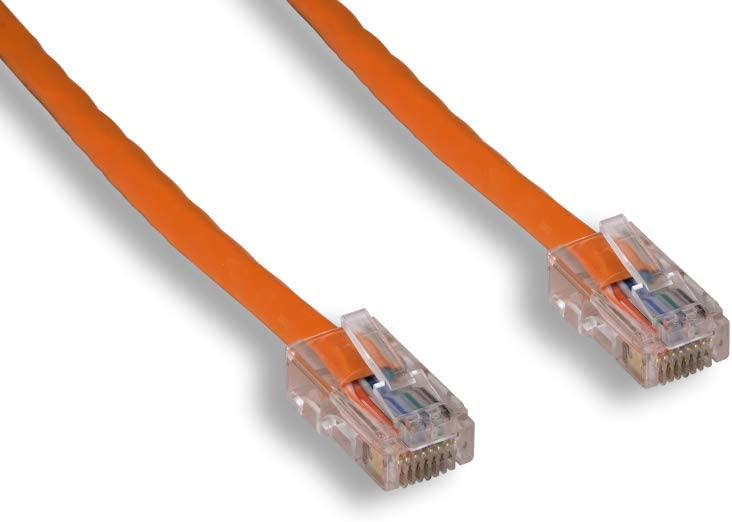 Non-Booted Assembly Orange Color Cablelera 3 Category 5e UTP Network Patch Cable ZNWN4470-03