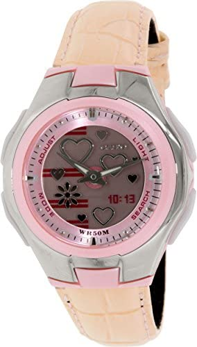 Casio Poptone Quartz Movement Grey Dial Ladies Watch LCF10L-4AV