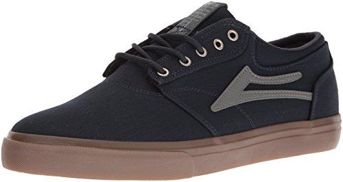 Lakai Heren Griffioen Skateboarden Schoen Navy / Gum Textiel