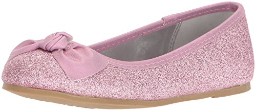 NINA Girls' larabeth Ballet Flat, Pink, 1 M US Little Kid