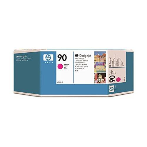 (まとめ) HP90 インクカートリッジ マゼンタ 400ml 染料系 C5063A 1個 【×3セット】 ds-1578494 B01N91VBDA