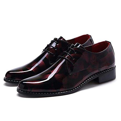 Xujw basse Scarpe dimensione Scarpe Colore stringate Rosso uomo mimetico Mocassino Tacco da Rosso piatto 40EU 2018 da lavoro Modello shoes casual IErgcqwxI