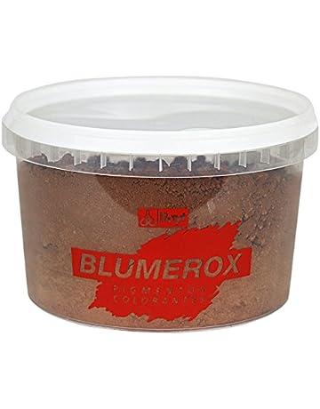 RAYT-BLUMEROX MARRON 1185-71-Colorante en polvo para cemento, cal y