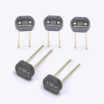 Silicio fotodiodo, Paquete fotodiodo, célula fotoeléctrica, visible a cerca de receptor de infrarrojos diodo, lxd13ce-a, 0: Amazon.es: Industria, ...