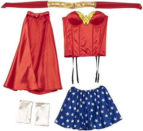 Rubie's Official Ladies Wonder Woman Corset Adult Costume - Large