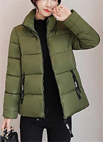 Fashion Armgrn Doudoune Manteau breal Chaud Longues Elgante Zip Quilting Femme Chemine Unicolore Manteau Blouson Stepp Manches Outdoor Loisir Doudoune Hiver pH1aIq