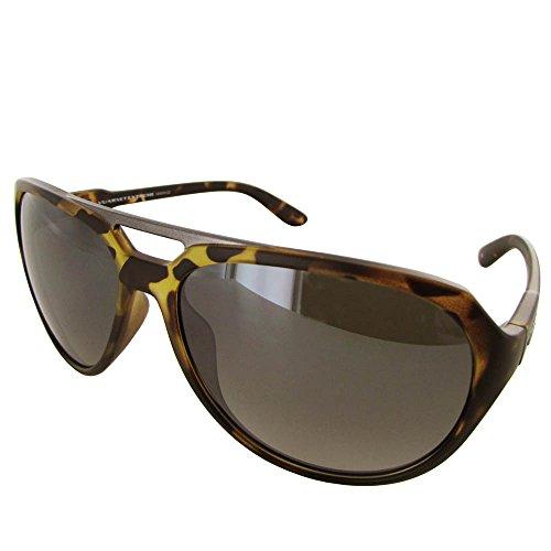 Vuarnet Extreme VE5009 Aviator Sunglasses - Medium Matte Havana/Brown Brown (Sunglassses Cheap)