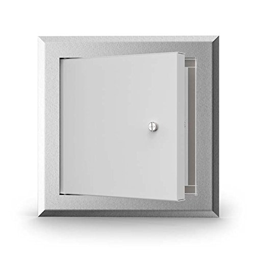 Acudor LT1818SCAL lt-4000 Lightweight Aluminum Access Door 18x18, Aluminum, 20'' Height by Acudor