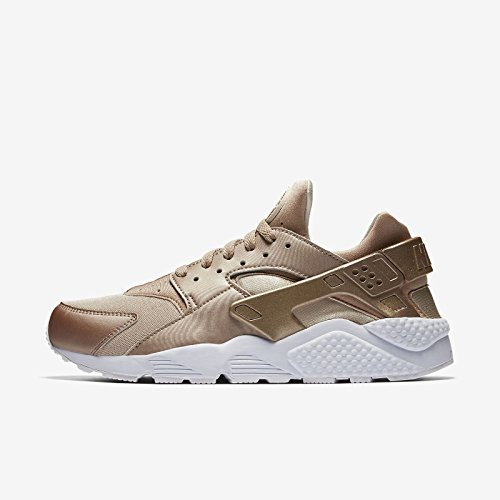 Nike Air Huarache Run Running / Foglia Oro / Bianco Sz 8.5 [704830 900] Uomini