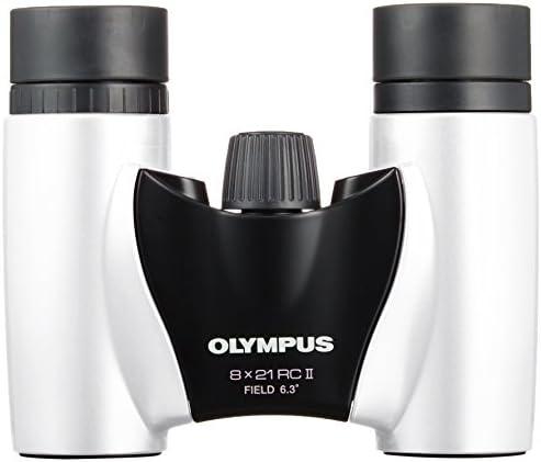 Olympus 8x21 Rc Ii Fernglas Mit Tasche Weiß Kamera