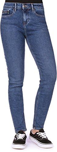 Skinny Jeans Klein W High Calvin Azul Vaquero Rise xISAnw
