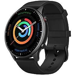 Amazfit GTR 2 Smartwatch Reloj Inteligente Fitness 12 Modos Deportivos 5 ATM Alexa Asistentes de Voz 3GB Almacenamiento de Música Llamadas telefónicas Bluetooth Aluminium