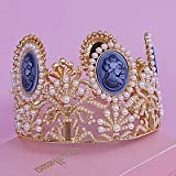 FLOW ZIG Pearl Tiaras Wedding 1pc