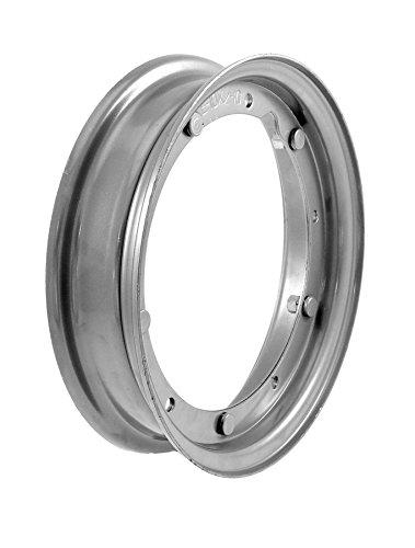 RMS Cerchio grigio Piaggio Vespa 50cc-Et3-Px-pk 3.50-10' (Cerchi Vespa) / Grey wheel rim Piaggio Vespa 50cc-Et3-Px-Pk 3.50-10' (Vespa wheels)