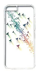 IPhone 6 Plus Case, IPhone 6 Plus Cases Hard Case Birds Fly Upwind Case For IPhone 6 Plus, IPhone 6 Plus PC Transparent Case