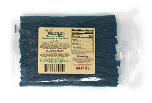 Kennys Licorice Twists, Blue Raspberry, 1 - Licorice Flavored
