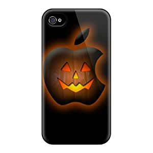 New Style Tpu 4/4s Protective Cases Covers/ Iphone Cases - Halloween Iphone