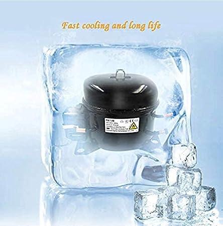 YFGQBCP Autónoma de madera del refrigerador de vino con la memoria digital de control de temperatura, una función de o autoportante libre de heladas compresor refrigerador de vino for los blancos y ti