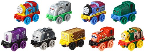 Fisher-Price Thomas & Friends MINIS, DC Super Friends #7 (9-Pack)