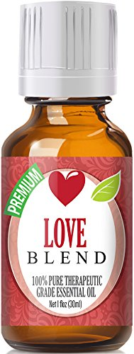 Love Blend 100% Pure, Best Therapeutic Grade Essential Oil - 30ml - Cananga, Clary Sage, Rose Geranium, Lavender, Patchouli Sweet Orange and Ylang Ylang