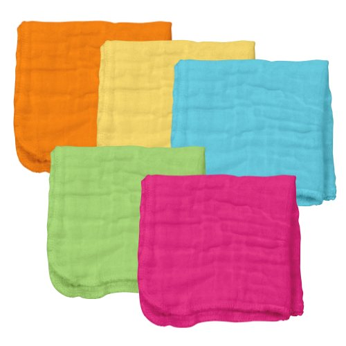 Muslin Face Cloths made from Organic Cotton