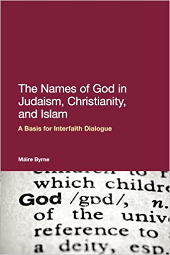 The Names of God in Judaism, Christianity and Islam: A Basis