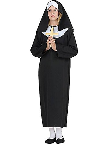 Costumes Kids Awesome (Lil Sister Nun Kids Costume)