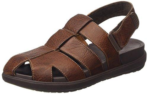 FitFlop Mens Ffisher Sandal Tan Size 12 cX8xRcx3Y