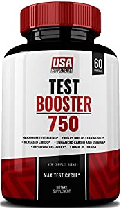 Testosterone Booster, Test Booster 750, Testosterone Booster For Men, Max Test Boost Cycle, Horny Goat Weed, Tongkat Ali, Saw Palmetto, Semen Volumizer, Male Enhancement Supplement