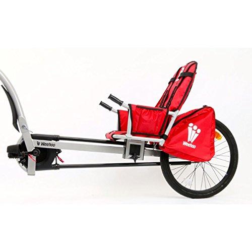 Best Weehoo Kids Turbo Bicycle Trailer, Red/Black, One Size (online)