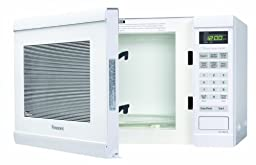 Panasonic NN-SN651W White 1200W 1.2 Cu. Ft Countertop Microwave Oven with Inverter Technology