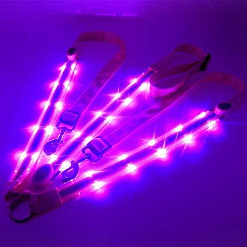 GCSEY Cinturón De Pecho LED Caballo Cabestros Hípica Equipo Noche Visible Caballo Brida Engranaje De Seguridad Cabestro En Equipo Noche De Caballo