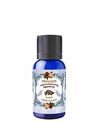 CLOVE ESSENTIAL OIL 10 ML Organic Pharmaceutical Therapeutic Grade A Wellness Relaxation 100% Pure Undiluted Steam Distilled Natural Aroma Premium Quality Aromatherapy diffuser Skin Hair Body
