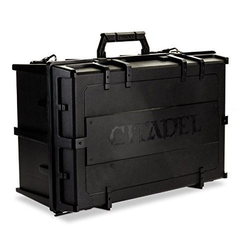 Small Figure Carrying Case - Games Workshop Warhammer 40,000 40K Citadel Crusade Figure Case