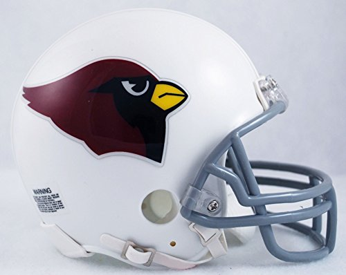 Riddell NFL Arizona Cardinals Helmet Replica Mini VSR4 Style 1960-2004 Throwback, One Size, Team Color