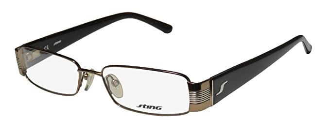a016458dac Sting 4772 Mens Womens Designer Full-rim Flexible Hinges Spectacular Vision  Care In Style
