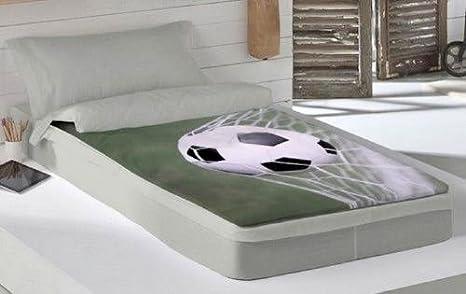 COTTON ART Saco Nórdico con Relleno Futbol para Cama 90 X 190/200 con Cremallera: Amazon.es: Hogar