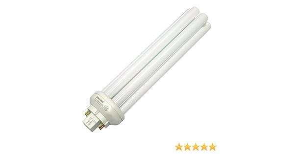 Philips 57 W 4 pin blanco Neutral GX24q5 Triple doble tubo CFL ...